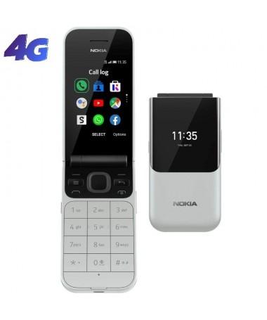 ph2Nokia 2720 Flip h2Ha vuelto el clasico telefono plegable Conectate con 4G y con las apps WhatsApp y Facebook Tiene dos panta