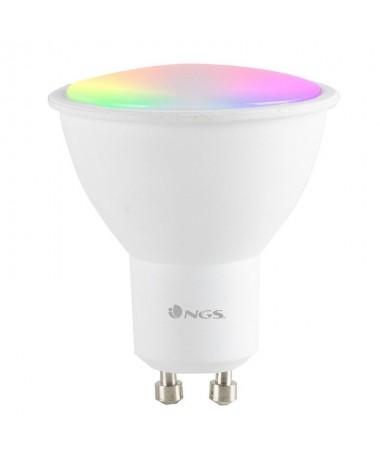 pDale un toque de color a los dias mas grises iluminando tu hogar gracias a NGS Gleam 510 La nueva bombilla de 5W inteligente e
