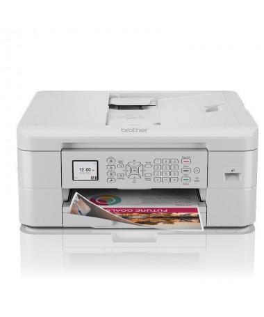 pImpresora multifuncion de inyeccion de tinta a color inteligente elegante y compacta con una pantalla LCD de 45 cm alimentador