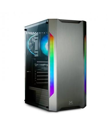 ppDroxio amplia su familia de torres con la nueva BAGGER una caja ATX con lateral de cristal templado y efectos de retroilumina