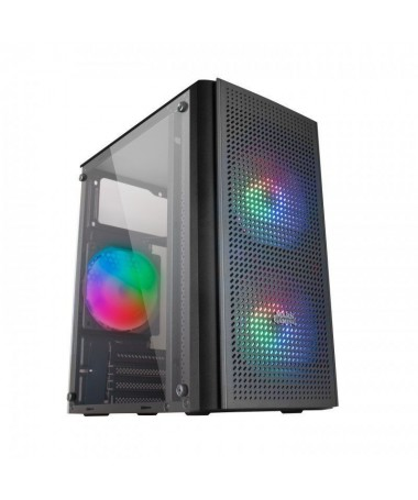 ph2CAJA COMPACTA GAMING MC300 h2Caja compacta con triple ventilacion incorporada para configuraciones Gaming de alto rendimient