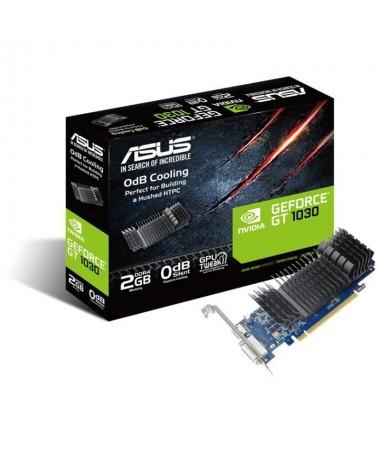 ph2Tarjeta grafica ASUS GeForce GT 1030 2GB DDR4 de perfil bajo para construcciones HTPC silenciosas con soportes de puertos E