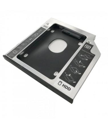 pQuieres mejorar la capacidad de tu portatil Este adaptador de disco duro reemplaza el ODD de su portatil con un HDD o SSD SATA