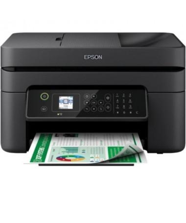 ph2WorkForce WF 2840DWF h2Esta completa impresora de inyeccion de tinta multifuncion con un diseno elegante y compacto y un uso