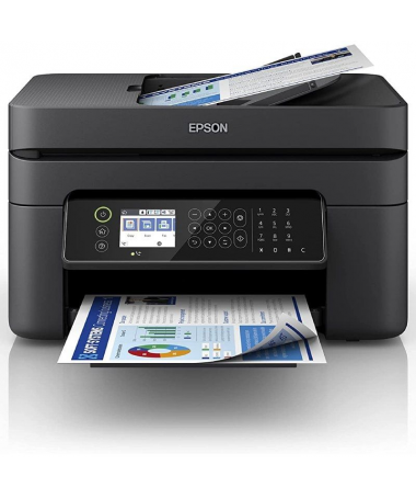 pImpresora de inyeccion de tinta multifuncion compacta disenada para oficinas domesticas y pequenas con alimentador automatico