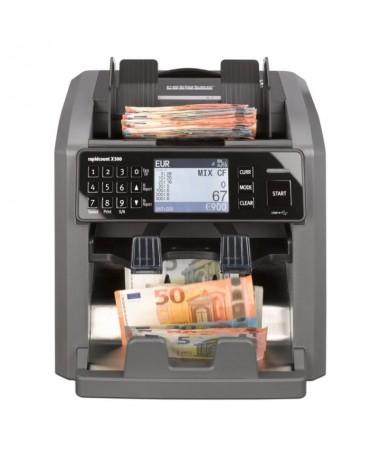 pLa X 500 nuestra contadora de billetes con un cajon del tamano habitual y otro mas pequeno es muy potente bry su tecnologia de