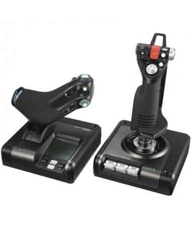 p ph2PRECISA ACCIoN DE SIMULACIoN DE COMBATE h2pEl sistema X52 HOTAS profesional es un dispositivo de juego de vuelo integrado