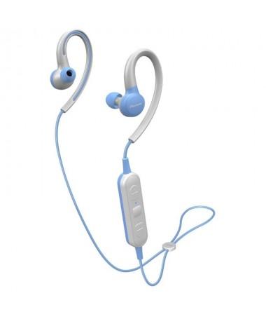 ppAuriculares deportivos inalambricos intraurales con control de potente iman de tierras raras de 8 mm Bluetooth IPX4 6 horas d