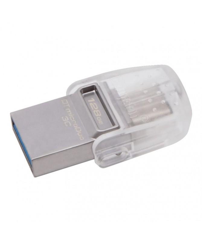 pDataTraveler microDuo 3C tiene una interfaz doble que funciona tanto con los puertos USB estandares como con los de USB Type C