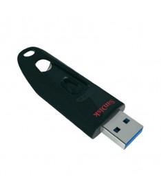 pEl SanDisk Ultra Flash Drive USB 30 combina altas velocidades de datos y gran capacidad de almacenamiento en un pendrive compa
