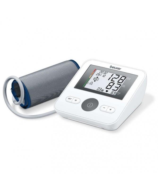 pCon el tensiometro de brazo BM 27 la medicion es todavia mas facil El control de sujecion del brazalete y el aviso automatico