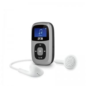 pul liPantalla iluminada Grabacion de voz Bateria de litio recargable Radio FM entrada auxiliar de 35mm Reproduce Musica MP1 MP