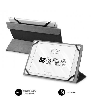 pul liFunda para Tablet compatible con todos los modelos de hasta 101 li liResistente material exterior con acabado en Cloth li