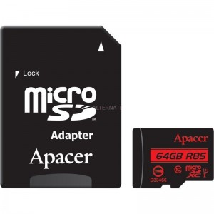 pul limicroSDXC clase 10 UHS 1 li liCapacidad 64GB li liVelocidad de escritura hasta 85MB seg li liDimensiones 15x11x1 mm li ul