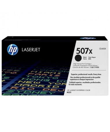 pEl cartucho de toner negro HP 507X para LaserJet mantiene la productividad empresarial alta Evite la perdida de tiempo y el de