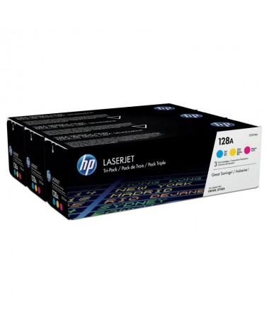 Los cartuchos de toner HP 128A LaserJet le permiten imprimir mas yahorrar mas sin sacrificar la impresion fiable y sin problema