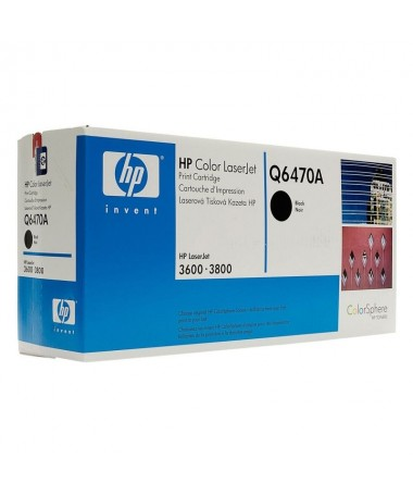 pTONER HP COLOR NEGRO PARA LASERJET COLOR 3800 3600 6000 PAG p