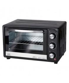 pHorno grill con temporizador de 60 minutos 28 litros de capacidad y 1500 W de potenciabrbrulliHorno grill liliCapacidad 28 L l