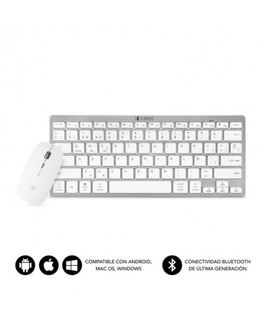 Teclado Wireless Bluetooth 30 compatible con dispositivos Apple Android y Windows Diseno Slim con solo 6 mm de grosor y compact