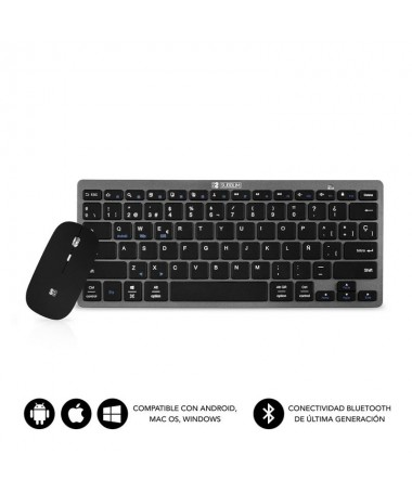 pTeclado Wireless Bluetooth 30 compatible con dispositivos Apple Android y Windows Diseno Slim con solo 6 mm de grosor y compac